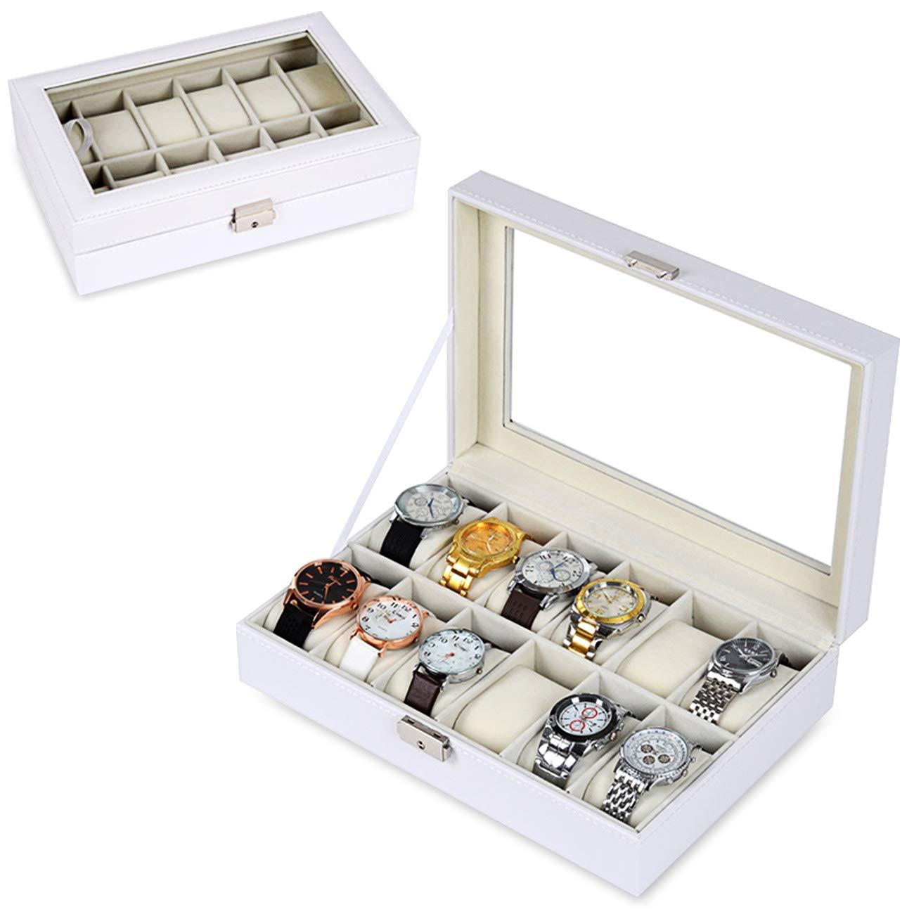 78268e360 Cajas para Relojes, The perseids Estuche para Relojes, Con 12  Compartimentos, Caja de