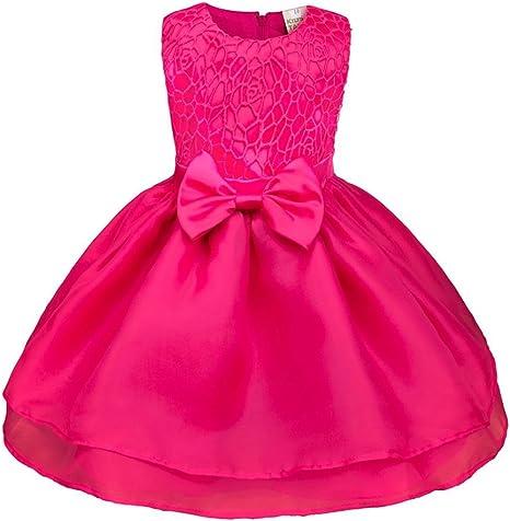 Sonnena Girls Dress - Vestido para niña de verano, vestido formal estilo princesa para cualquier evento: bailes,