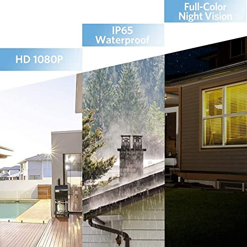 TENVIS FHD 1080P Outdoor Security Camera