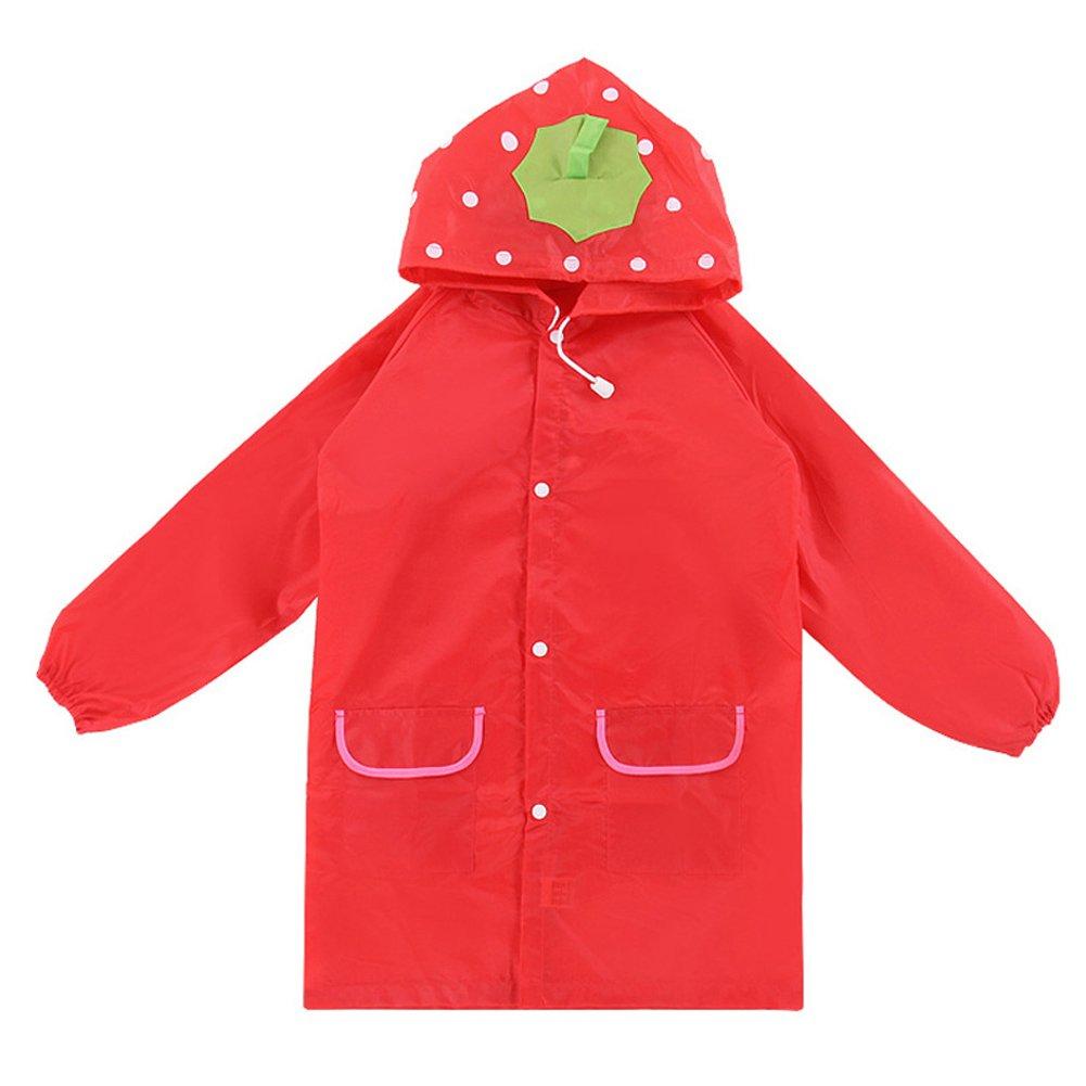 Wildlead Kids Rain Coat Animal Style Bambini Impermeabili Impermeabili Impermeabili Unisex Cartoon Impermeabili per bambini
