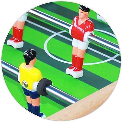 WJMLS Mesa de futbolín de Mesa portátil con Dos Pelotas y Marcador para Adultos y niños: Amazon.es: Juguetes y juegos
