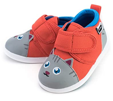 Delightful Chairman Meow Squeaky Shoes For Toddlers W/ Adjustable Squeaker, Size 4, By  Ikiki