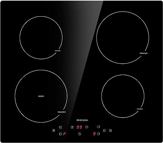 Amazon.com: Placa de inducción., negro, (Black Induction ...