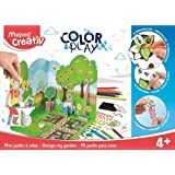 MAPED Creativ Colour and Play Design Your Garden, (8907008)
