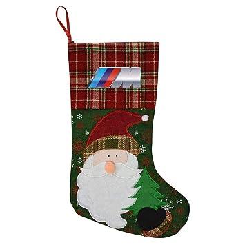 Amazon Com Wegbgi Bmw M Logo Personalized Christmas Stockings Big
