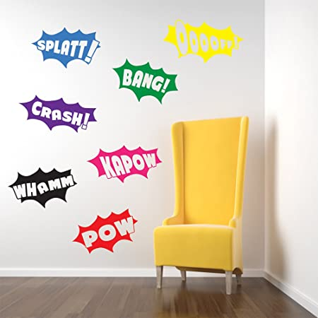 Vinyl Concept   Batman Wall Stickers, Decals, Pow, Bang, Crash, Splatt
