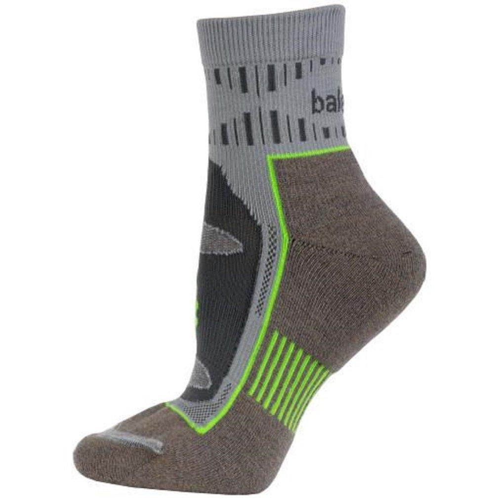 Balega Blister Resist Quarter Socks For Men and Women (1 Pair), Mink/Grey, X-Large by Balega