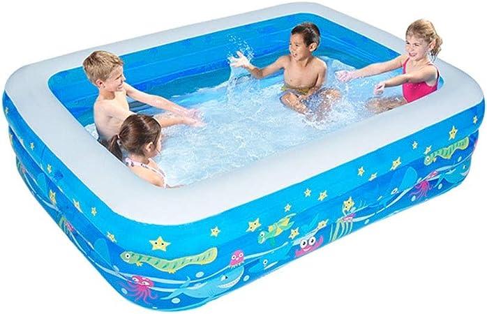 LYM & bañera Plegable Piscina al Aire Libre del jardín, baño de la Piscina Infantil para niños Adultos, Variedad de tamaños Disponibles, Plegable y portátil Piscina Desmontable (Size : 260cm): Amazon.es: Hogar