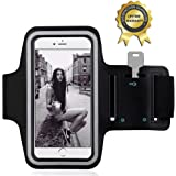 Sport Armband - YOKIRIN Doppelseitig-Lycra Schweißbeständig Wasserdicht Armband Etui Case Hülle mit Schlüsselhalter für IOS Android Smartphone MP3 GPS-Gerät unter 5,5 Zoll