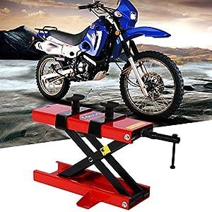 GOTOTOP Ponte Sollevatore Motocicletta,Moto Cric Idraulico ConStands,Martinetto Idraulico Sollevatore cric per… 61CYu5mcYaL. SS300