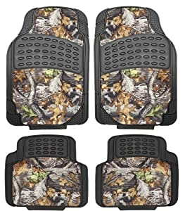 Amazon Real Camouflage Set Piece Car Truck Floor Mat Custom Fit All Weather