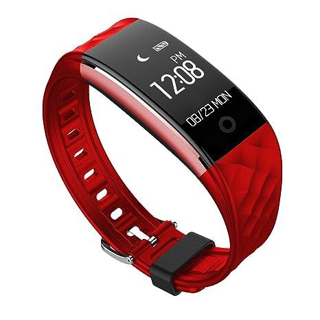 Cebbay Reloj Inteligente Pulsera de Actividad Pulsómetro Análisis de Sueño, Podómetro, Anti-pérdida