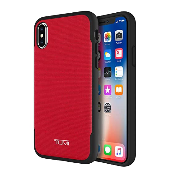 info for ca7cb 70aca TUMI Co-Mold for iPhone X - Red