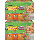 Cheap Purina Friskies Gravy Pleasers Variety Pack Cat Food – (24) 8.25 lb. Box, 2-Pack