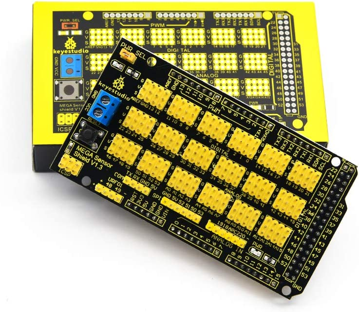 Sensor Shield V1.0 V2.0 MEGA 2560 Expansion Development Board For Arduino