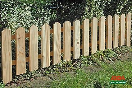 8x cl/ôture /à piquets 120 x 30 cm palissade bois Cl/ôture Limitation de betterave PALISSADE