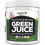 Organic Superfood Powder- Organifi Green Juice Superfood Supplement - 30 Day Supply - USDA Certified Organic Vegan Greens- Hydrates and Revitalizes - Boost Immune System - Support Relaxation and Sleep