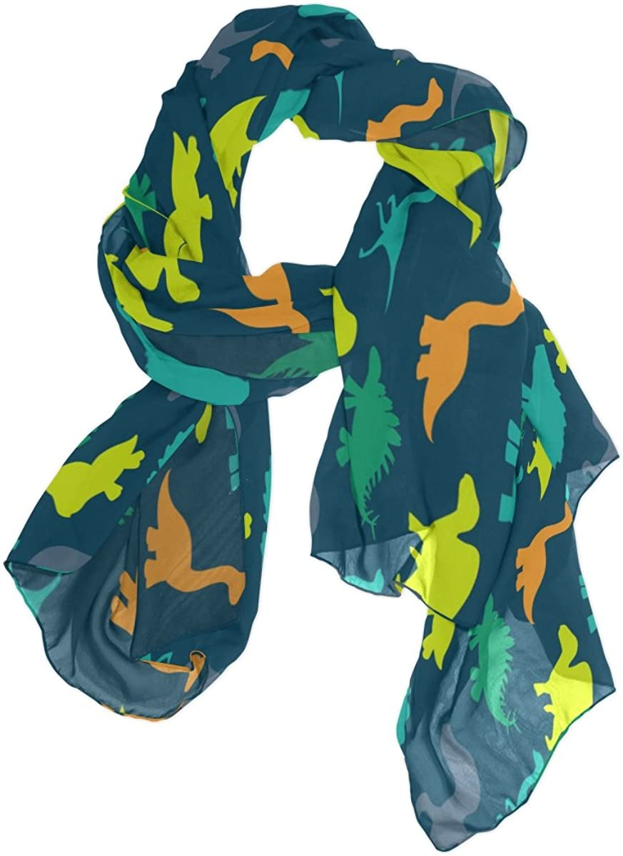Use4 Chiffon Silk Long...