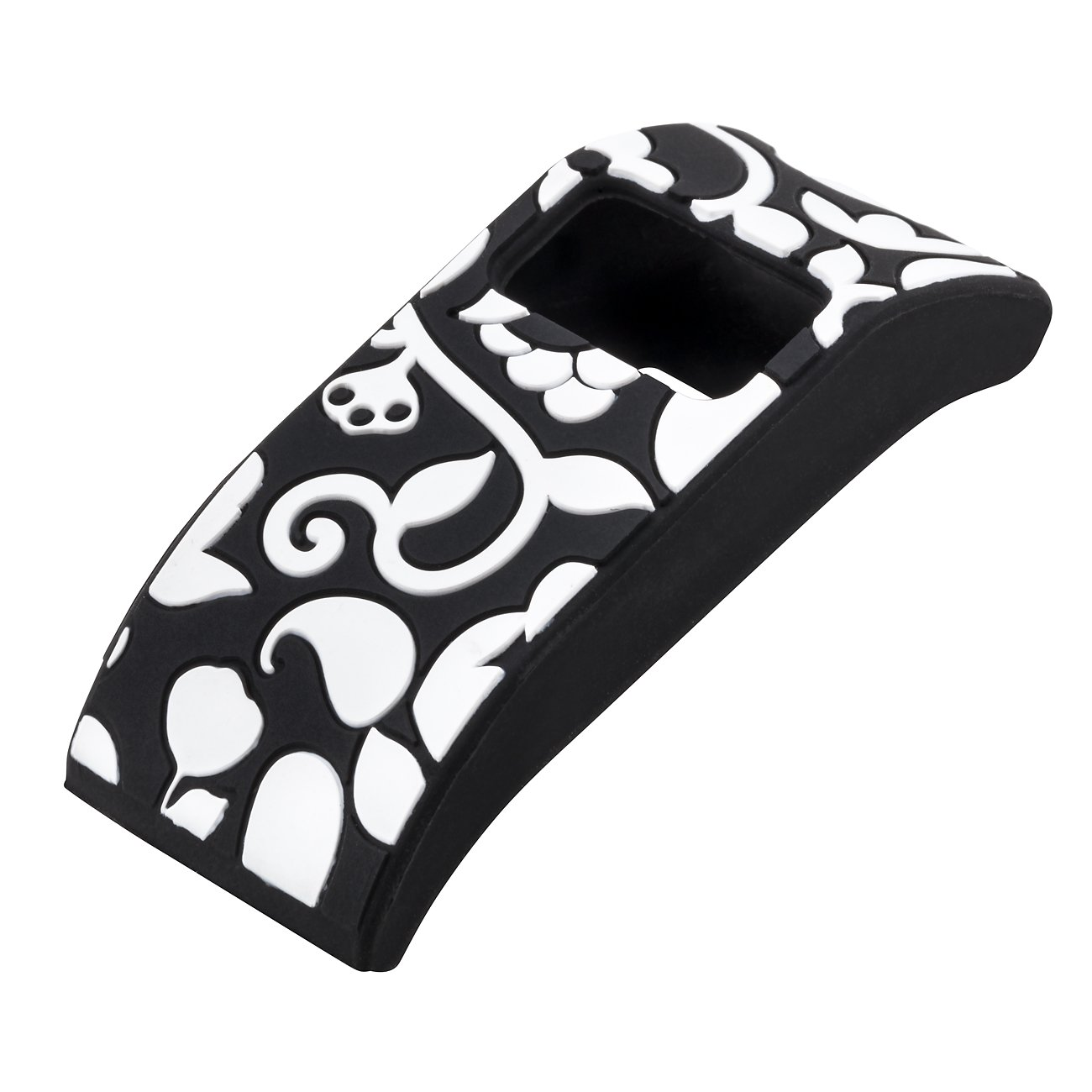amazon com french bull fitbit charge fitbit charge hr slim amazon com french bull fitbit charge fitbit charge hr slim designer sleeve band cover vines black white sports outdoors