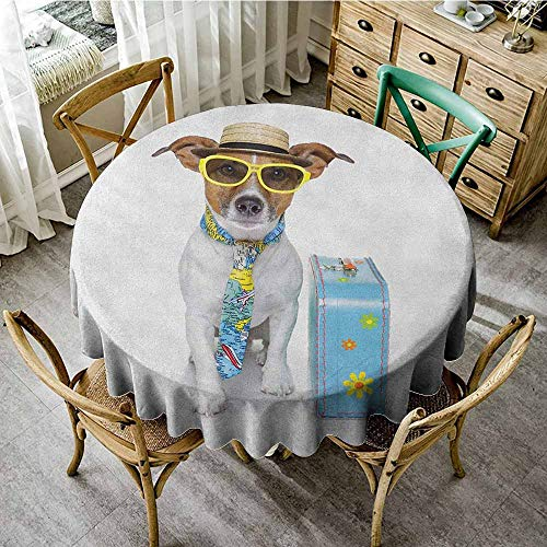 Rank-T Round Tablecloth Christmas 50
