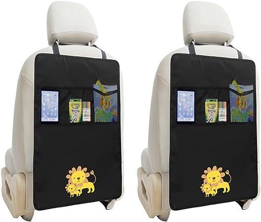 Rückenlehnenschutz  Sitz Organizer  Schutz Rücksitz Schutzmatte  BLAU NEU