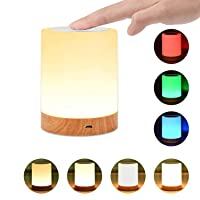 Night Light, UNIFUN Touch Lamp for Bedrooms Living Room Portable Table Bedside Lamps...