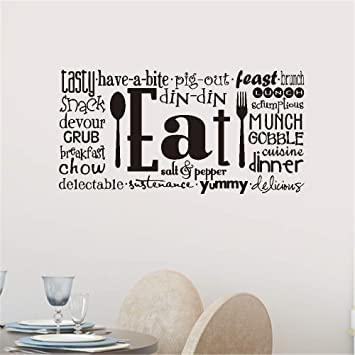 Amazoncom Wall Sticker Quote Wall Decal Funny Wallpaper