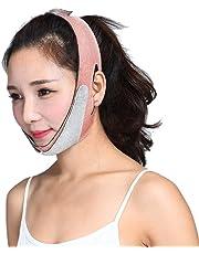 Rekkle Facial Delgada máscara de la mascarilla V V Talladora Que Adelgaza Vendaje Estiramiento Facial durmiendo Reducir la papada de la Correa