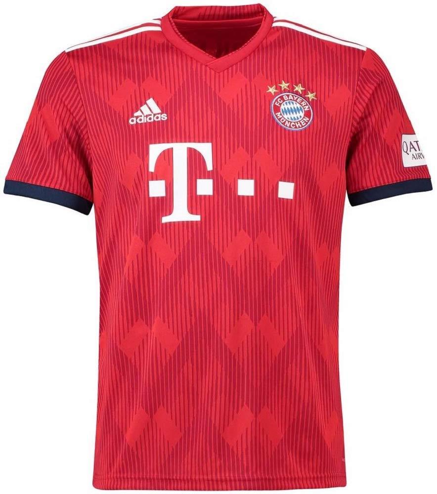 adidas(アディダス) FCバイエルンミュンヘン ホームユニフォーム 2018/19 FC Bayern Munchen Home Shirt 2018/19 [並行輸入品] B07JM1FNQ1 インポートXXXL|番号選手名なし / NO PRINT  インポートXXXL