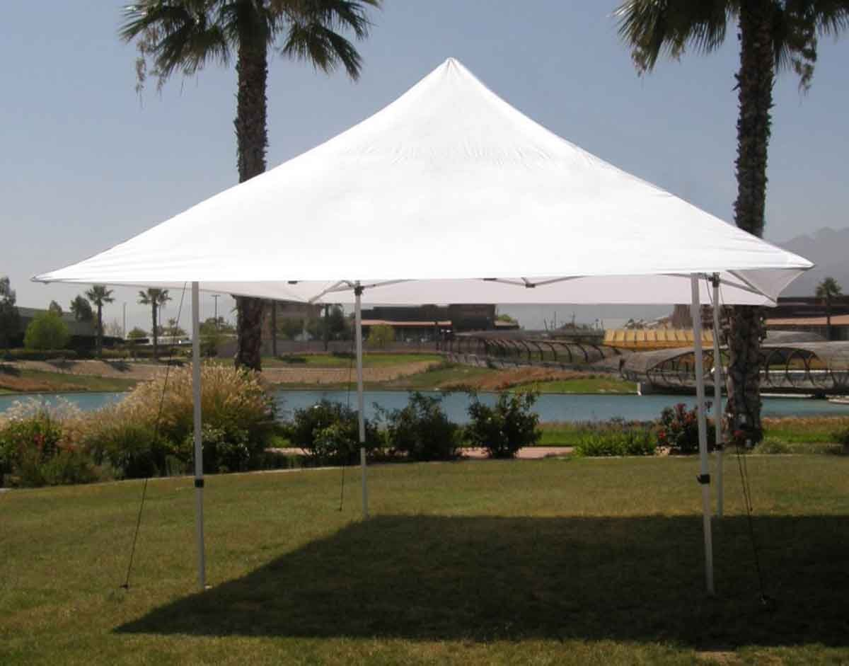 Impact Canopies Flair 10x10 Instant Pop Up Canopy Tent White Amazon.ca Patio Lawn u0026 Garden & Impact Canopies Flair 10x10 Instant Pop Up Canopy Tent White ...