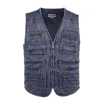 Giacche e cappotti Casual vest Uomo Smanicato Gilet per