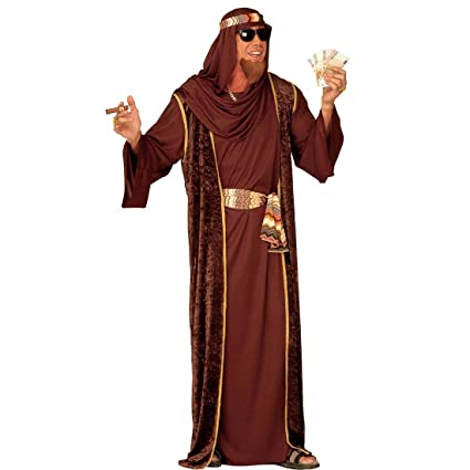 Reloj para hombre con disfraz de jeque Sheik traje ...