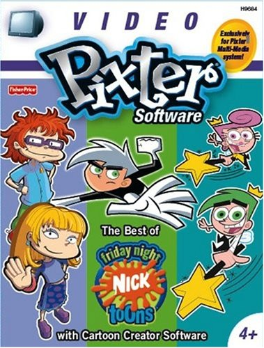 Pixter Multi-Media Video ROM - Nick Toons by Fisher-Price (Image #1)