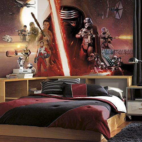 RoomMates Star Wars The Force Awakens Ep VII Prepasted Removable Mural