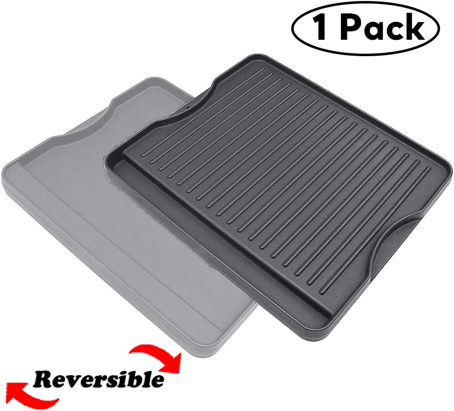 "QuliMetal Reversible Griddle Cast Iron Griddle for All Camp Chef 14"" and 16"" Stoves, 1 Pack"