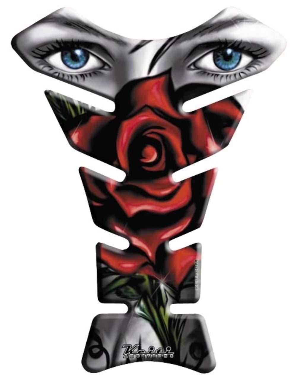 KEITI Protà ¨ ge Rà © servoir Moto Tank Pad Sticker Autocollant KT8140 Lady & Rose