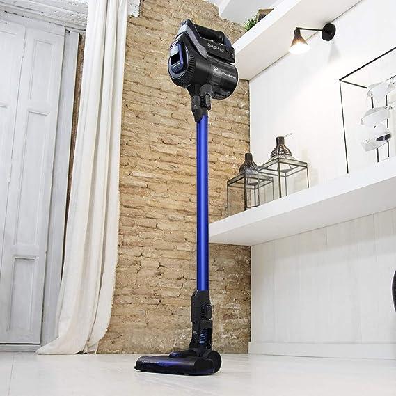Aspirador Vertical Conga ThunderBrush 850 Immortal Battery 29,6 V (Color Azul): Amazon.es: Hogar