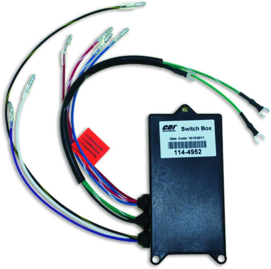 CDI Electronics 114-4952A30 Switch Box-Nla Merc 18495A30