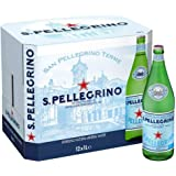 San Pellegrino Sparkling Water -Glass - 12 x 1 ltr(Pack of 12)