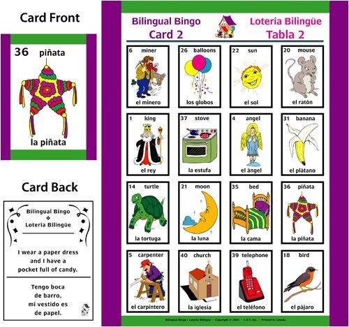 Bilingual Bingo ~ Lotería Bilingue (Spanish and English) (Family (Bilingual Bingo)