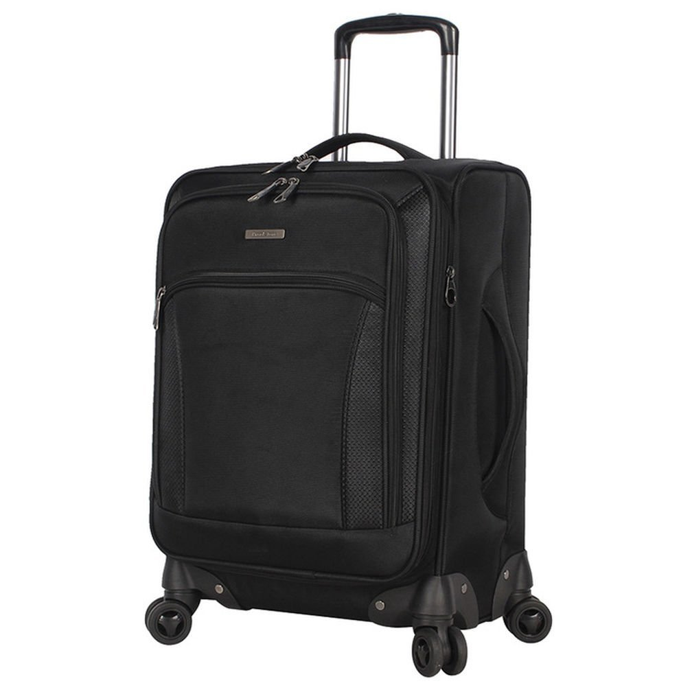 Brookstone 20'' Carry-On Spinner Luggage with Charging Ports