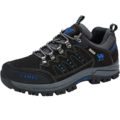 CAMEL CROWN Zapatos de Senderismo Zapatillas Trekking Hombres Mujer, Zapatillas de Senderismo para Outdoor Trekking Caminar Escalar: Amazon.es: Zapatos y ...