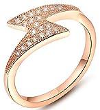 18k Platinum Plated Rings, Women's Wedding Bands
