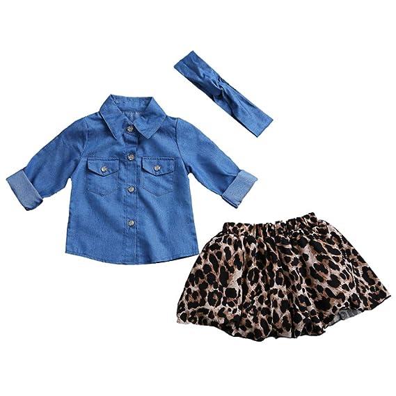 718fd930de7e Ropa Bebe NiñA Verano 2 Piezas De Ropa De Moda para La Familia Que Combinan  Ropa De Madre E Hija Camisa De Vestir PatróN De Mezclilla Infantil De Padres  E ...