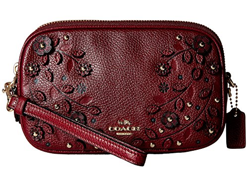 Womens Willow Floral Applique Crossbody