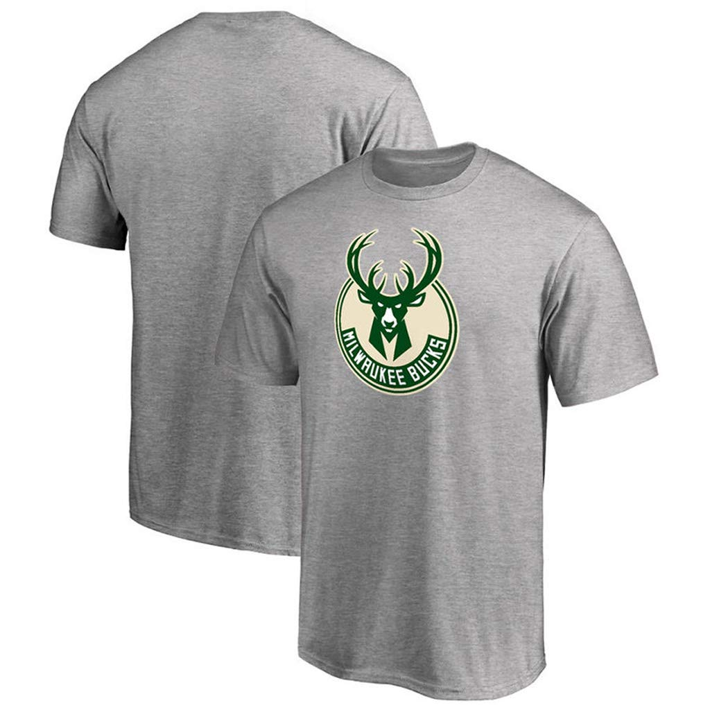 Milwaukee Bucks Giannis Antetokounmpo 34# T shirt Youth M/änner Name /& Number Fashion Basketball Sports T-shirts Tee Tops