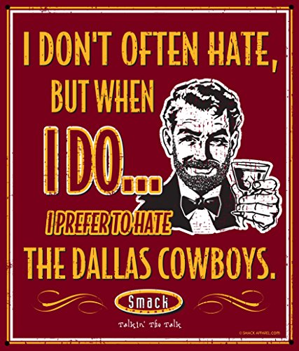 Nalie Sports Washington Football Fans. Stay Victorious. I Don't Often Hate (Anti-Dallas). Metal Man Cave (Washington Redskins Parking Sign)