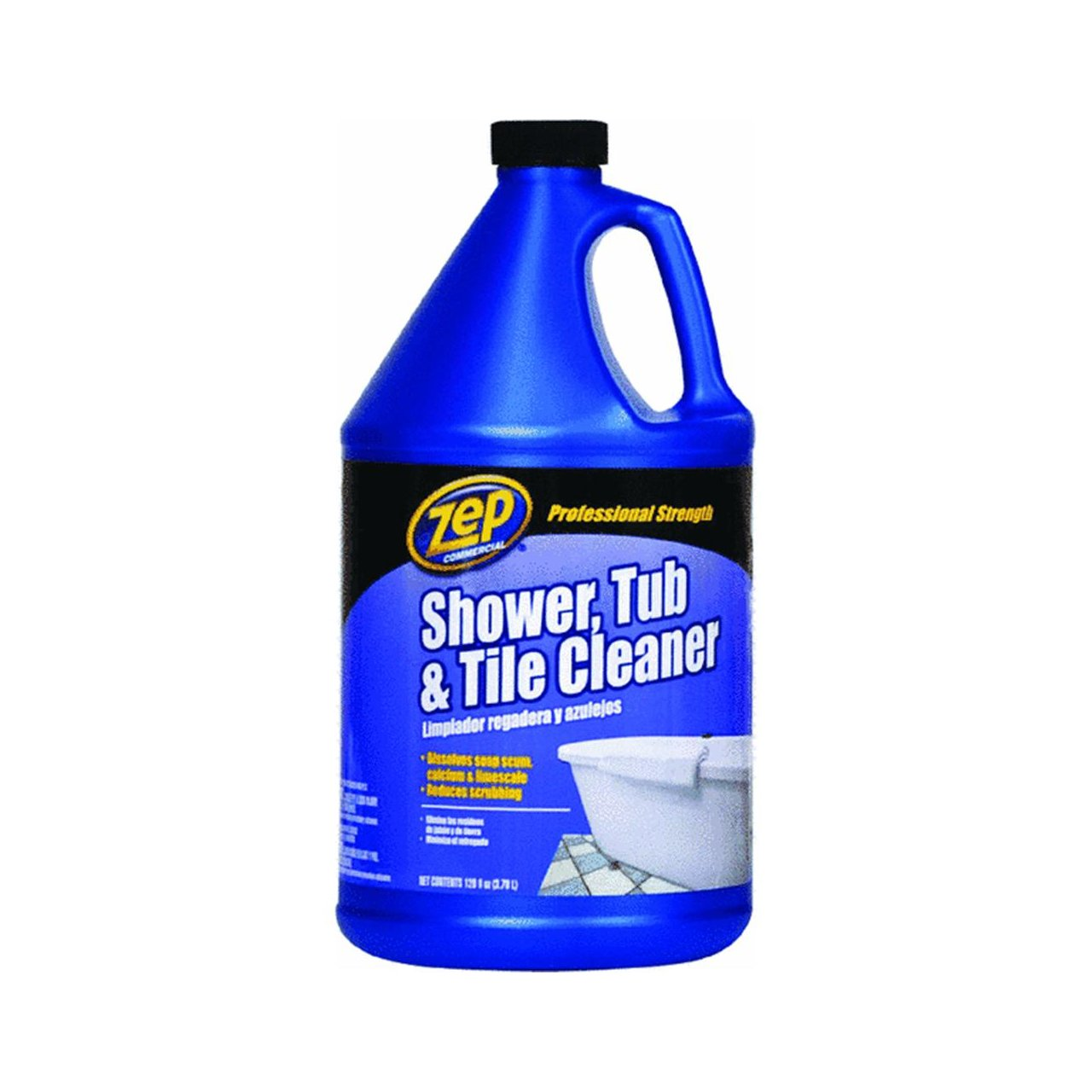 Zep ZUSTT128 Shower, Tub and Tile Cleaner 128 Ounces - Zep Shower ...