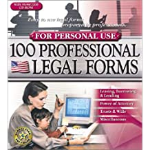 100 Professional Legal Forms for Personal Use