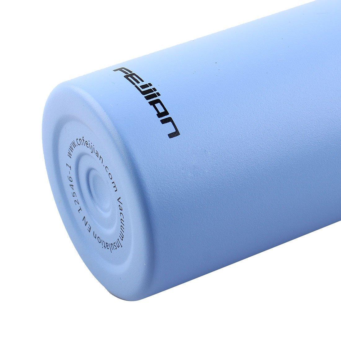Amazon.com : eDealMax Feijian autorizado Acero inoxidable Deportes Viajes de pared Doble Con aislamiento al vacío a prueba de calor Taza del agua de Botella ...